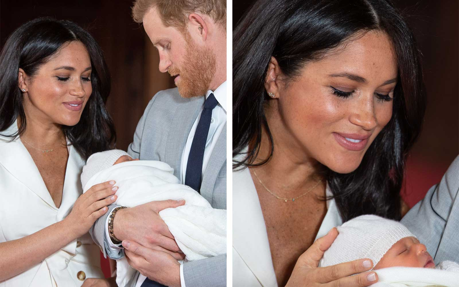 Duke and Duchess of Sussex with Baby