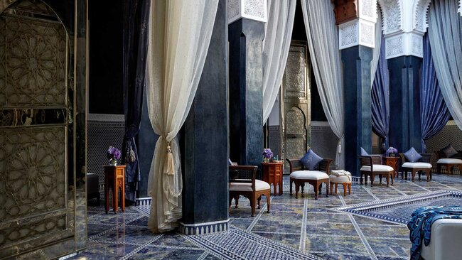 Royal Mansour, in Morocco