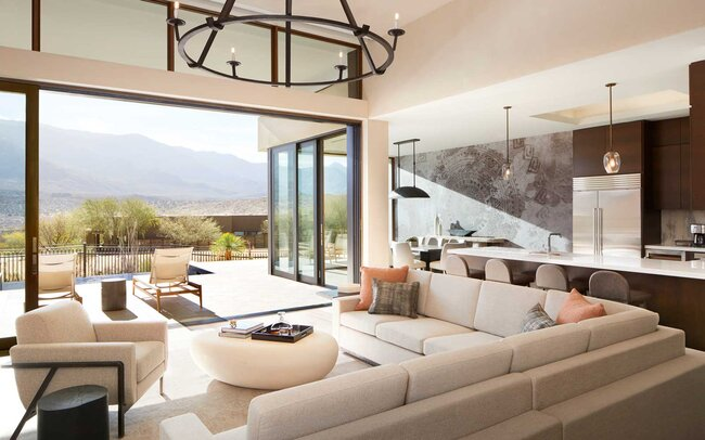 Miraval Arizona Resort & Spa living room