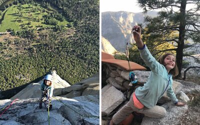 10-year-old Girl Becomes Youngest Person to Climb Yosemite's