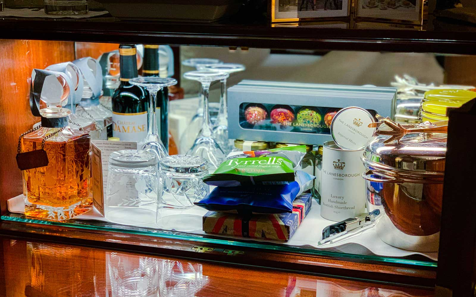 Pictured are some of the in-room amenities guests will find.