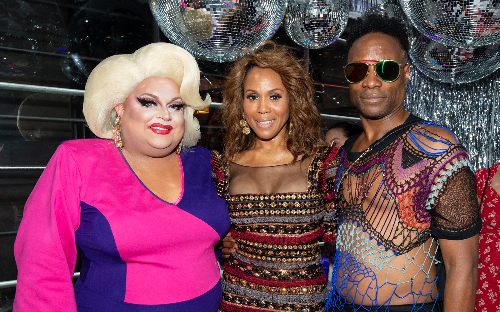 Sir Richard Branson, Billy Porter, Courtney Act, Ginger Minj and Deborah Cox celebrate Pride and announcement of Virgin Voyages LGBTQ+ charter with Atlantis Events