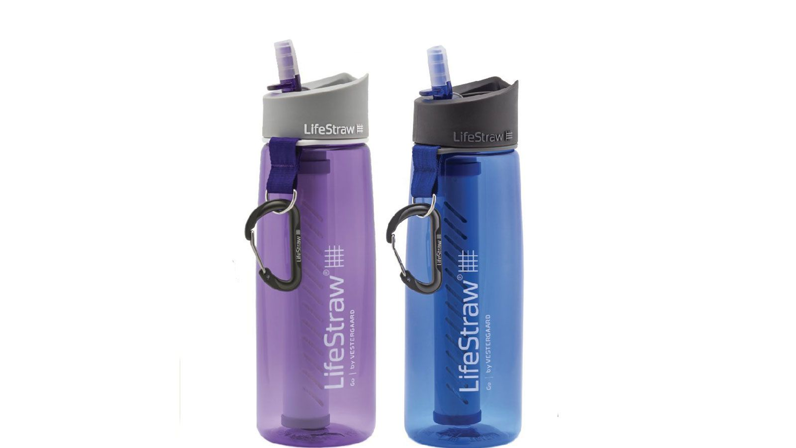 LifeStraw Go Water Filter Bottles (Two-Pack)