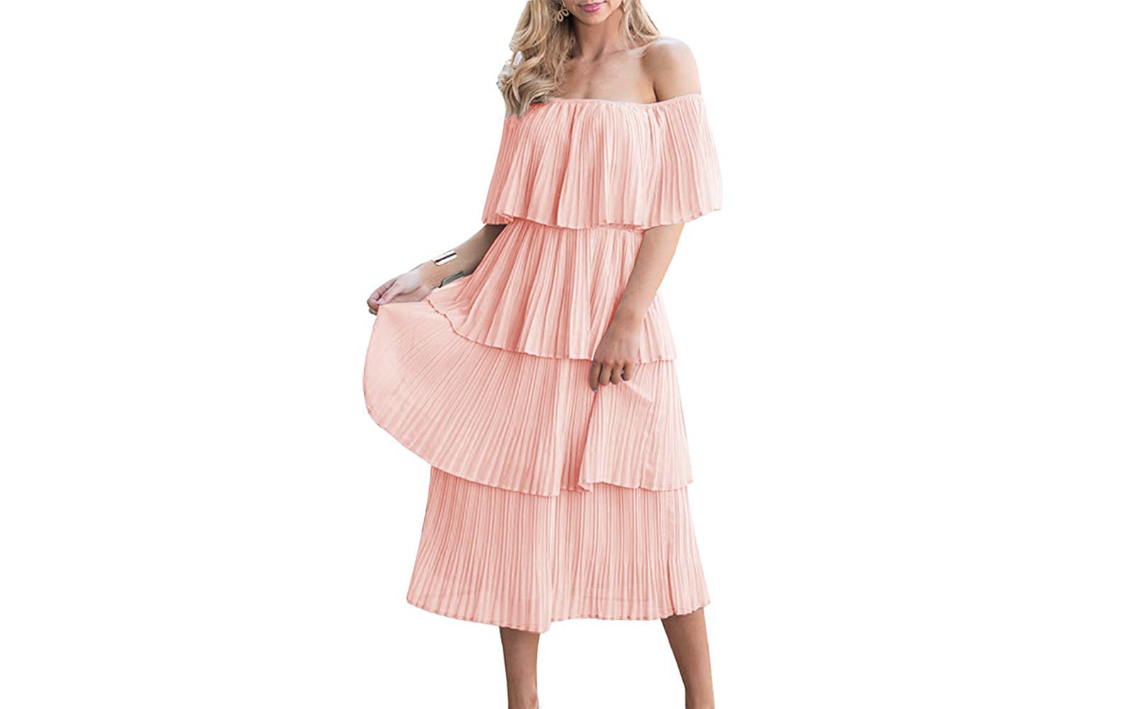 Viral Ruffle Dress from Amazon