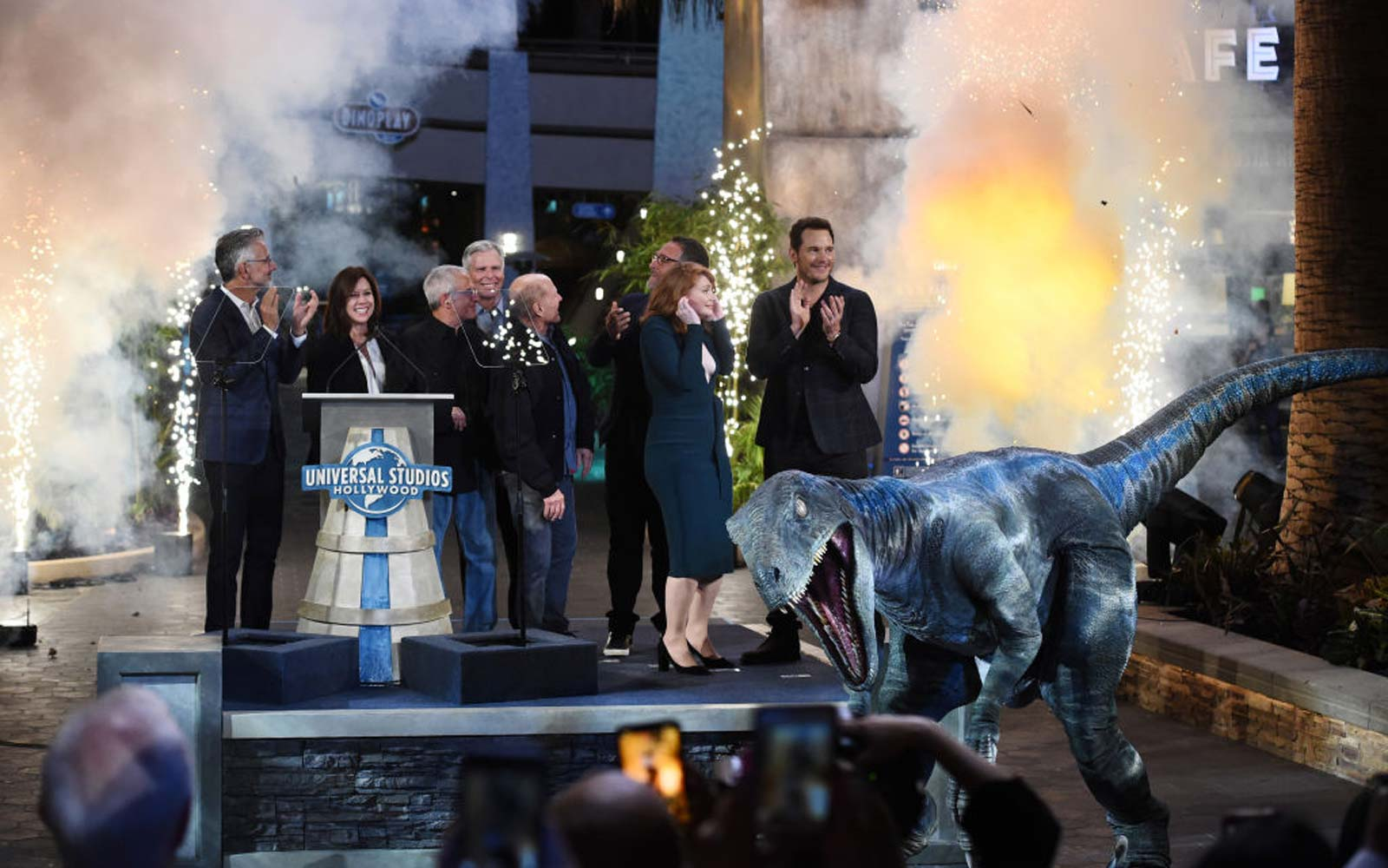 Universal Studios Hollywood Hosts  Jurassic World-The Ride  Grand Opening Celebration