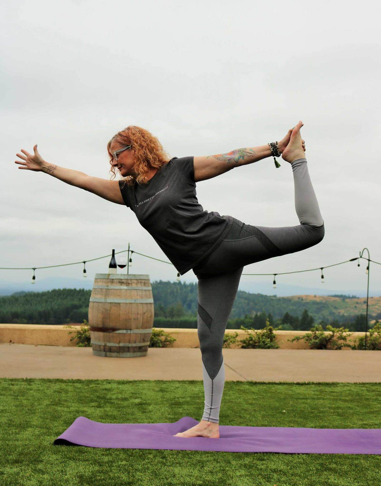 Yoga in the Willamette Valley