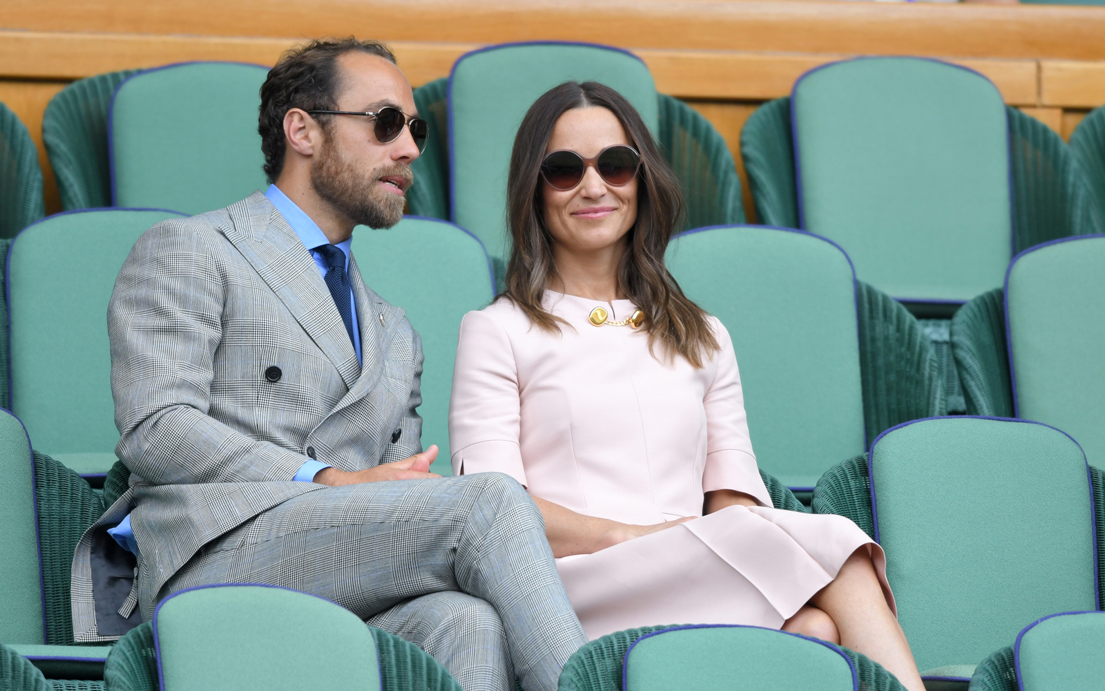 James Middleton and sister Pippa