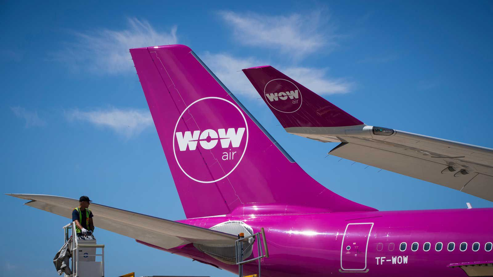 WOW Air going cargo only airlines