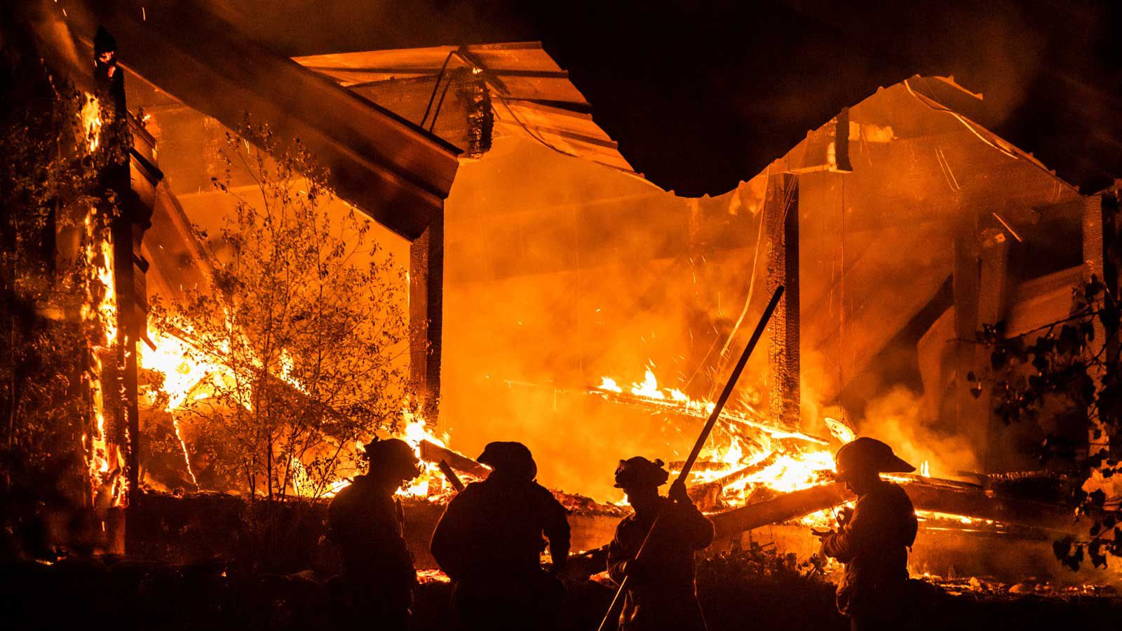 California Fires - Getty Fire - Kincade FIre