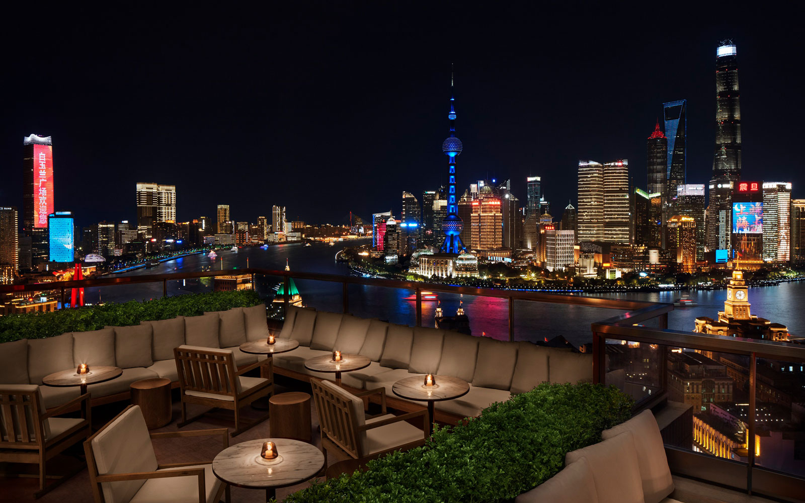Roof Bar at Shanghai Edition