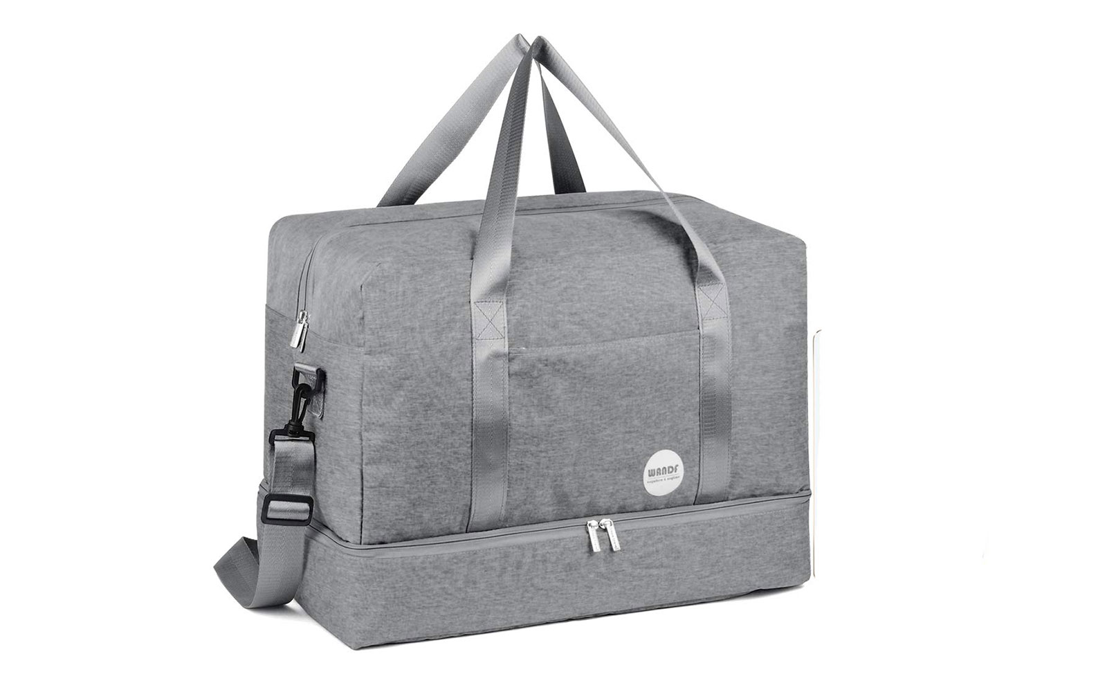 WANDF 16  / 20  Gym Bag Sports Duffle with Wet Pocket and Shoes Compartment