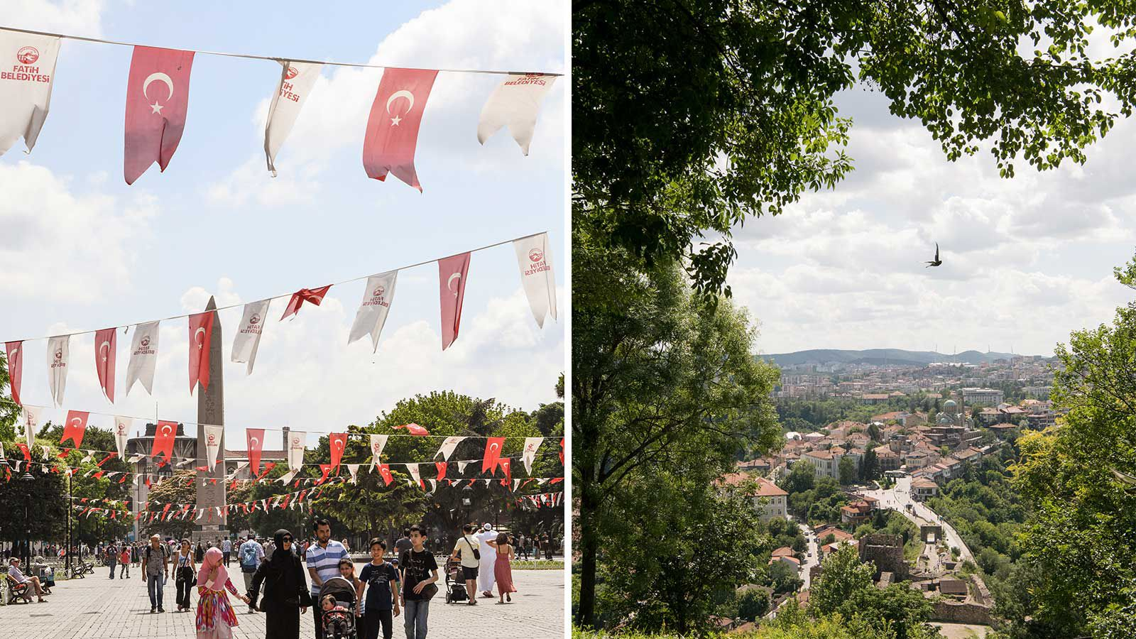 Scenes from Istanbul and Bulgaria