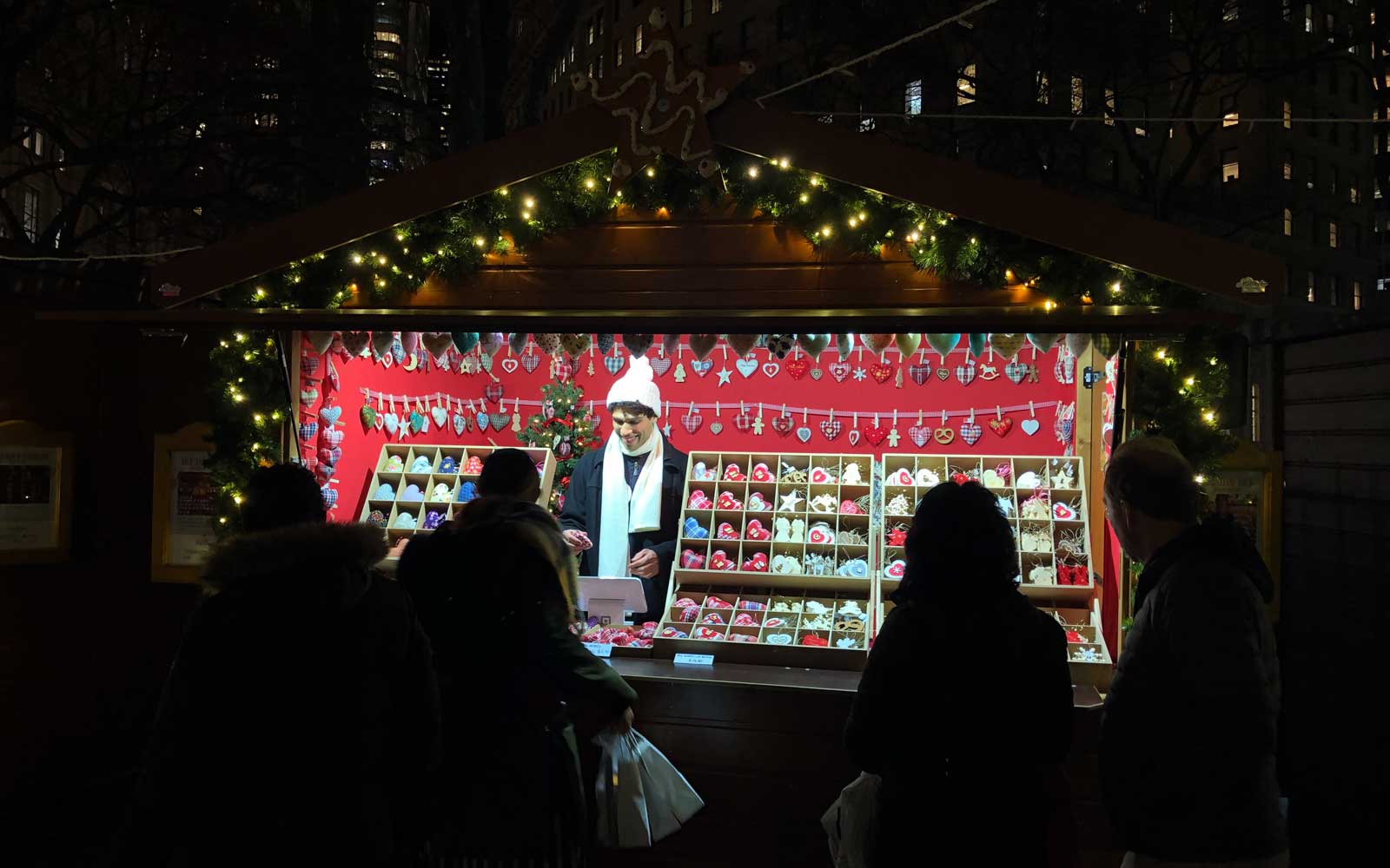 Alsace Christmas Market in New York City