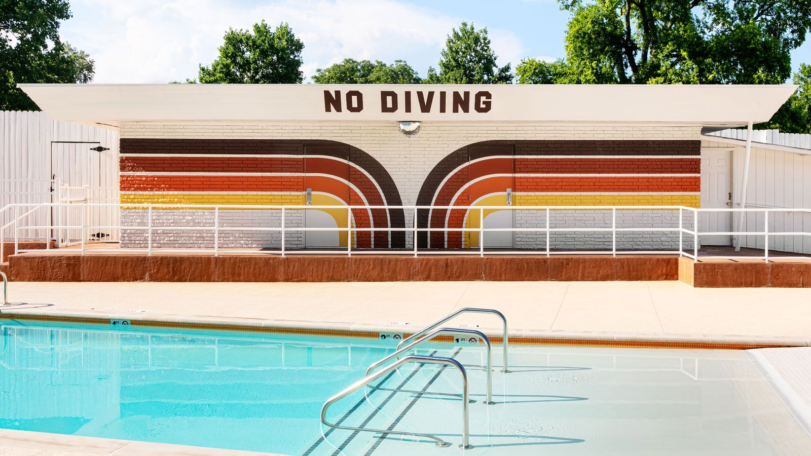 Dive Motel Pool