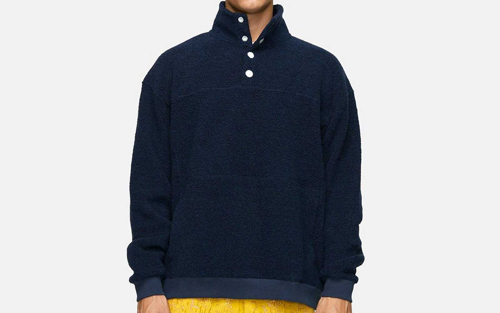 Navy Outdoor Voices Men's Fleece Jacket