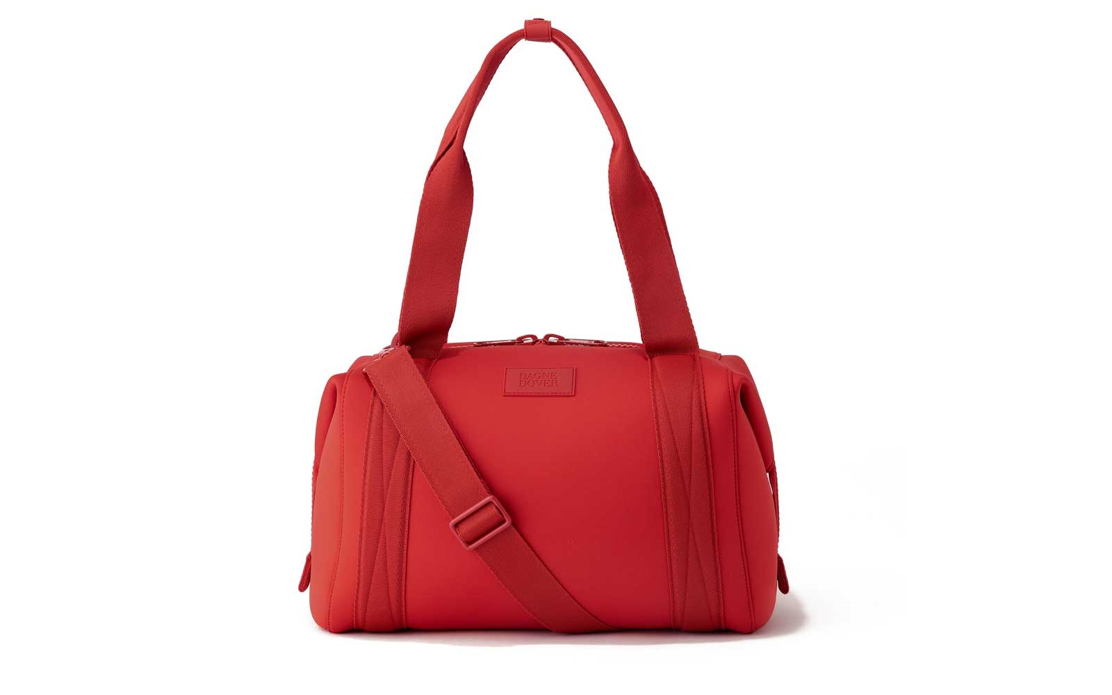 Red Neoprene Duffel Bag