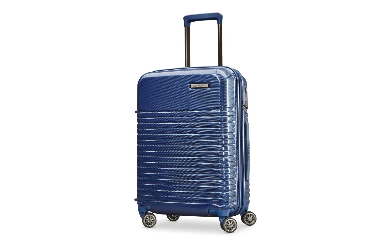 Navy Blue Harside Carry-on Suitcase