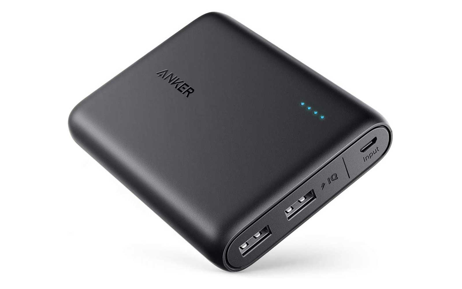 Black Portable Charger