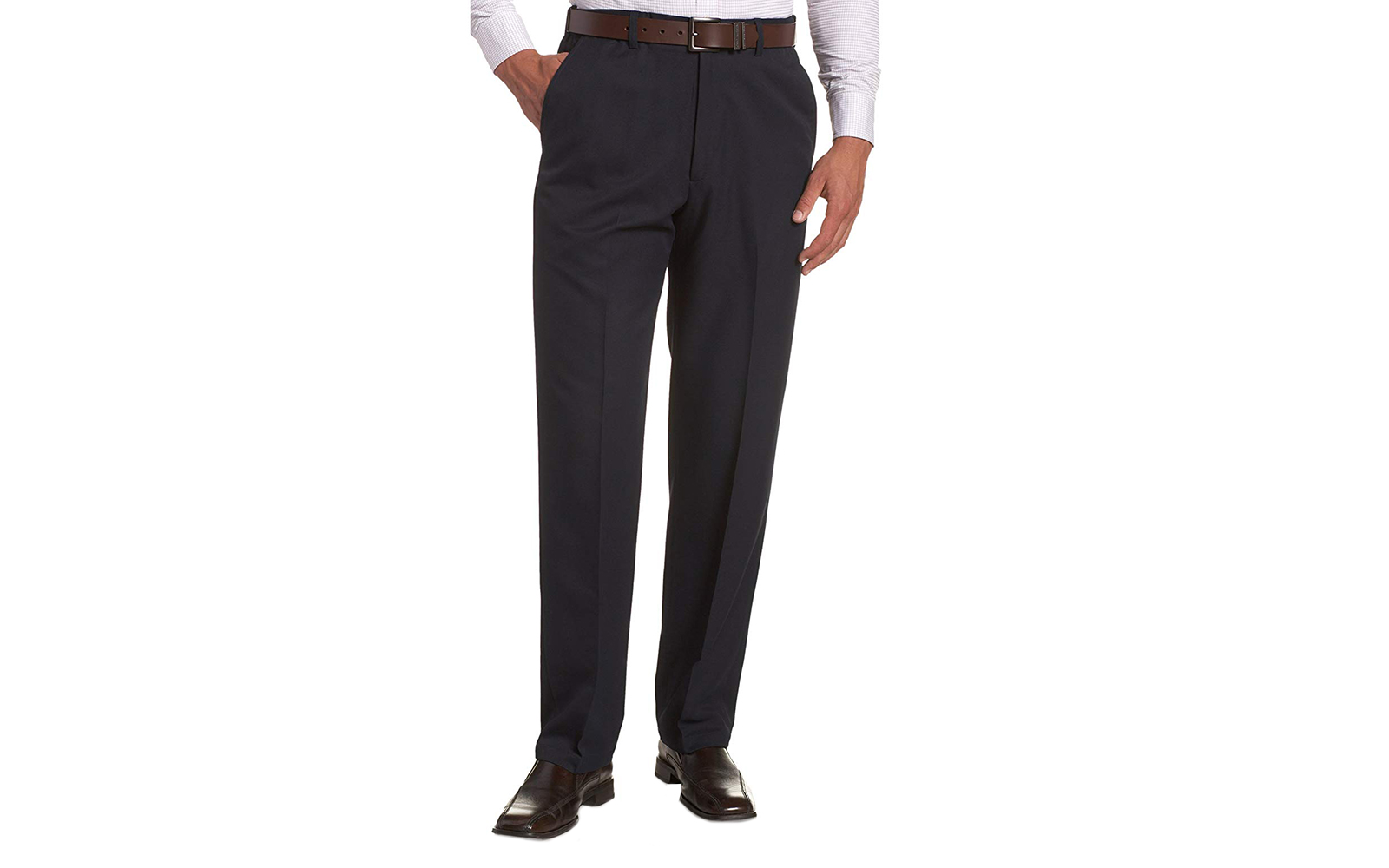 These wrinkle-free pants have thousands of five-star reviews — and they're perfect for bus