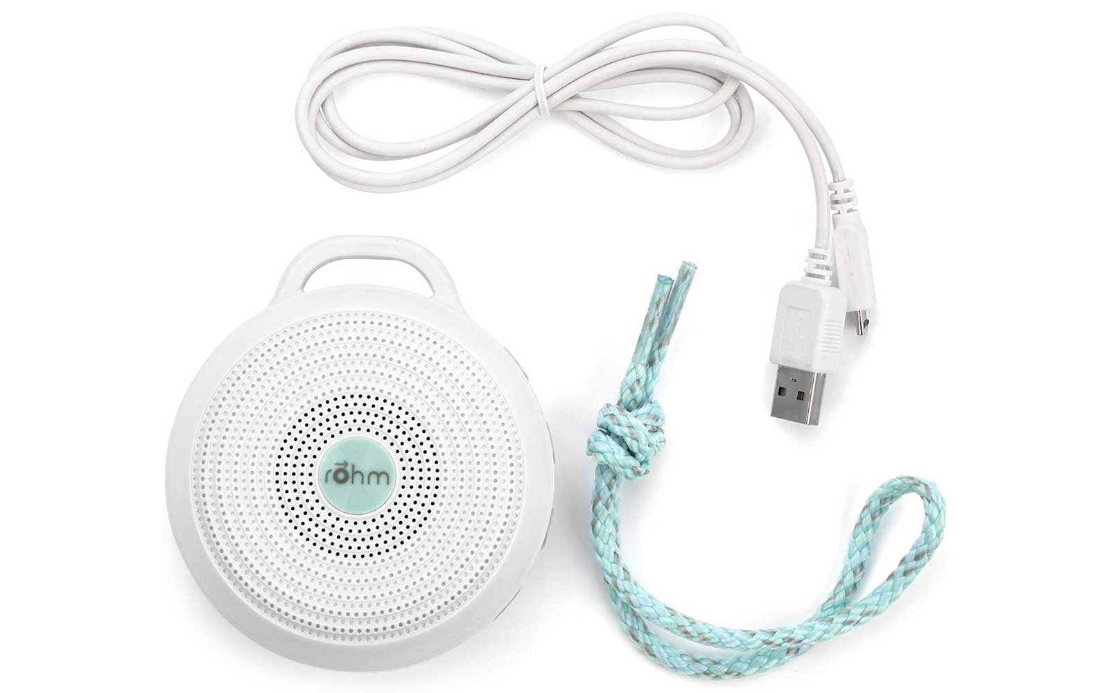 Portable White Noise Machine with USB Charger