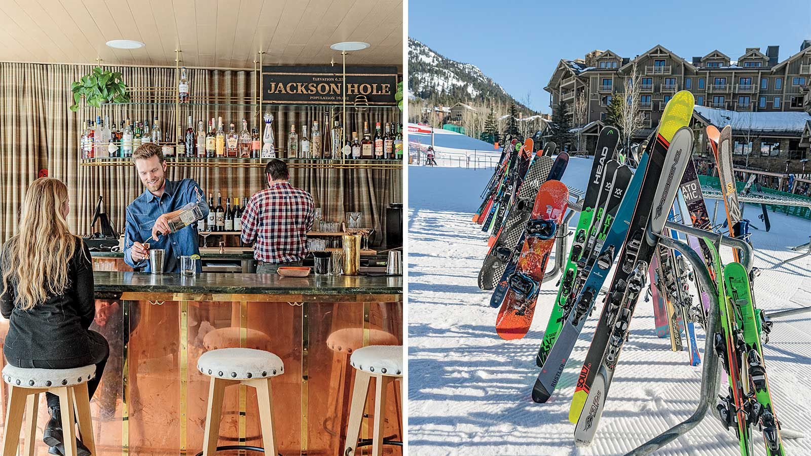 Scenes from Jackson Hole, Wyoming