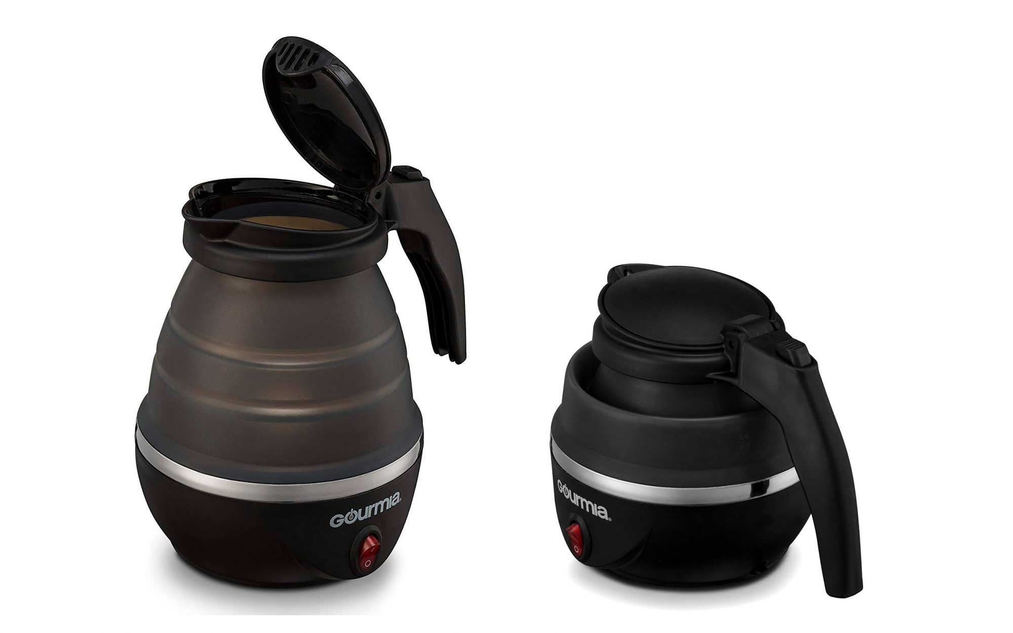 This foldable electric kettle is the ultimate tool for traveling tea-lovers