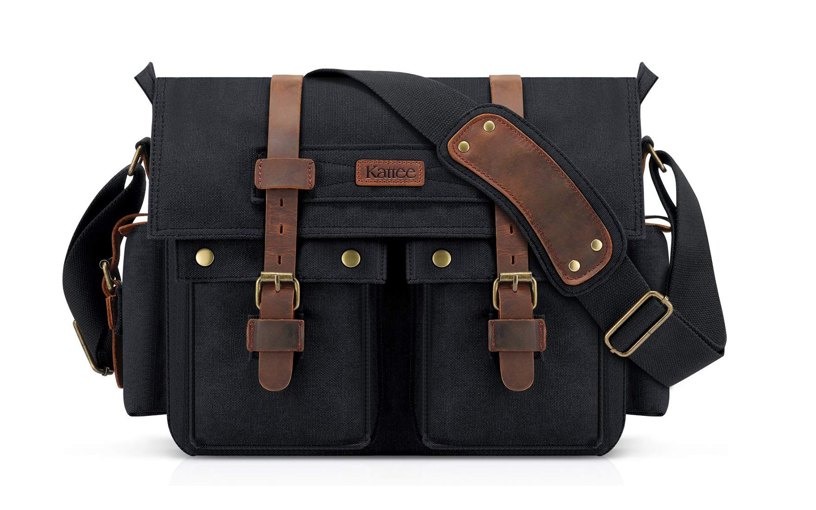Photographers are raving about this $40 leather canvas camera bag
