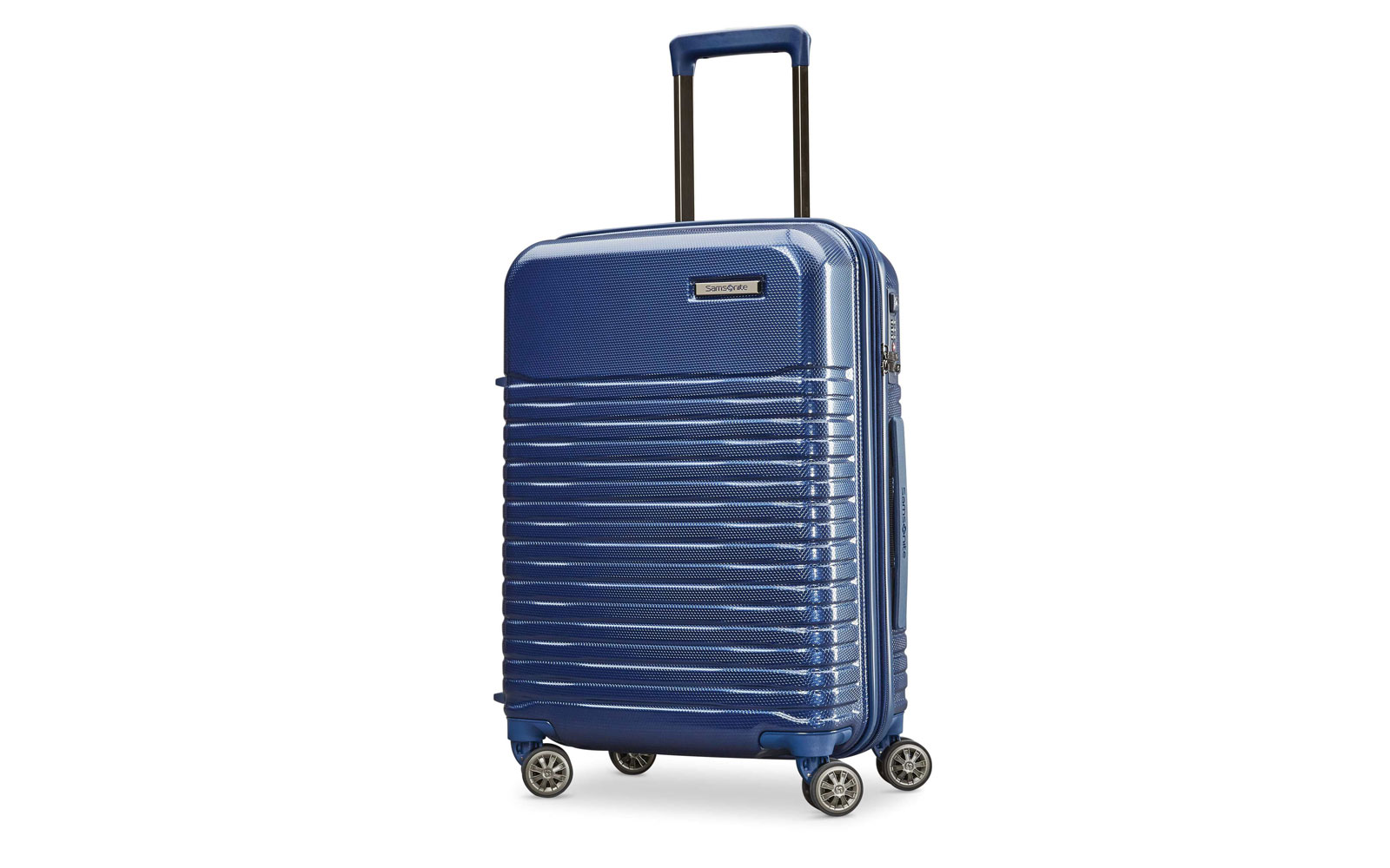 Dark Blue Hardside Suitcase