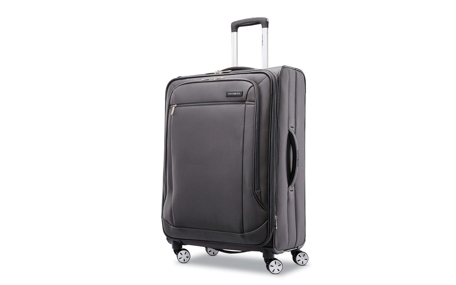 Medium Grey Softside Suitcase