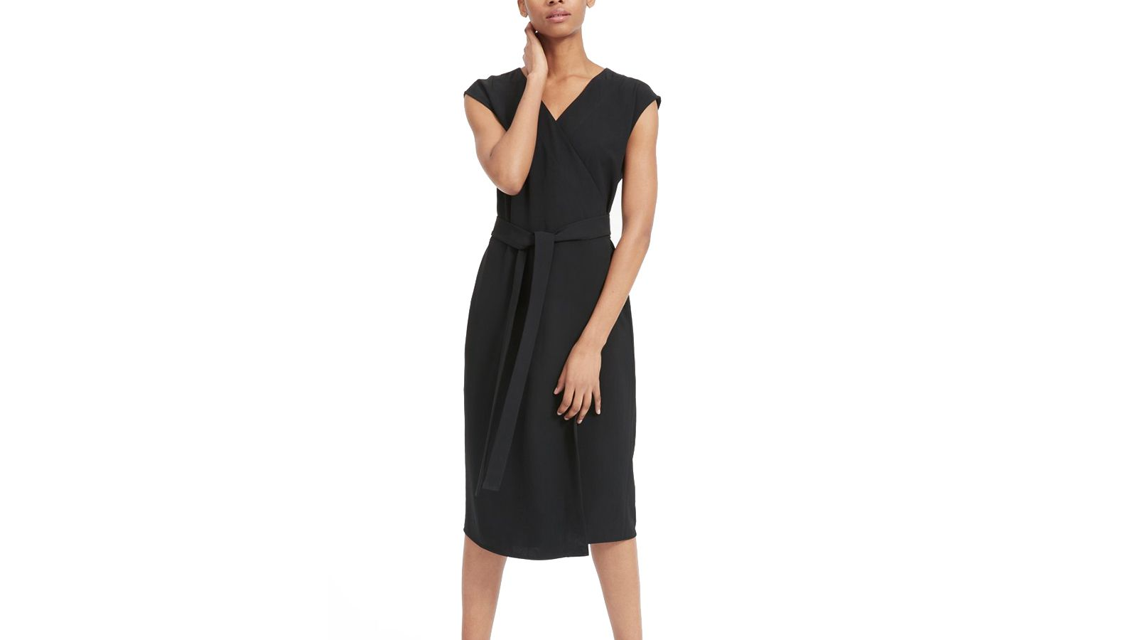 Everlane Japanese GoWeave Wrap Dress