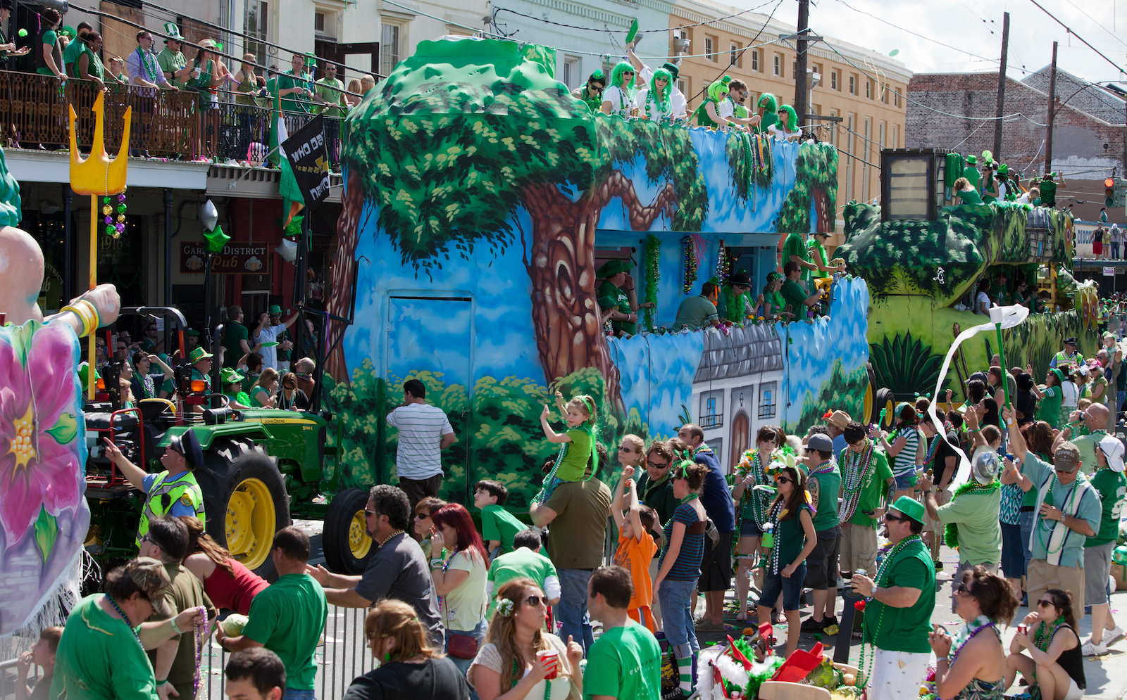 St Patrick's day Traditions in New Orleans