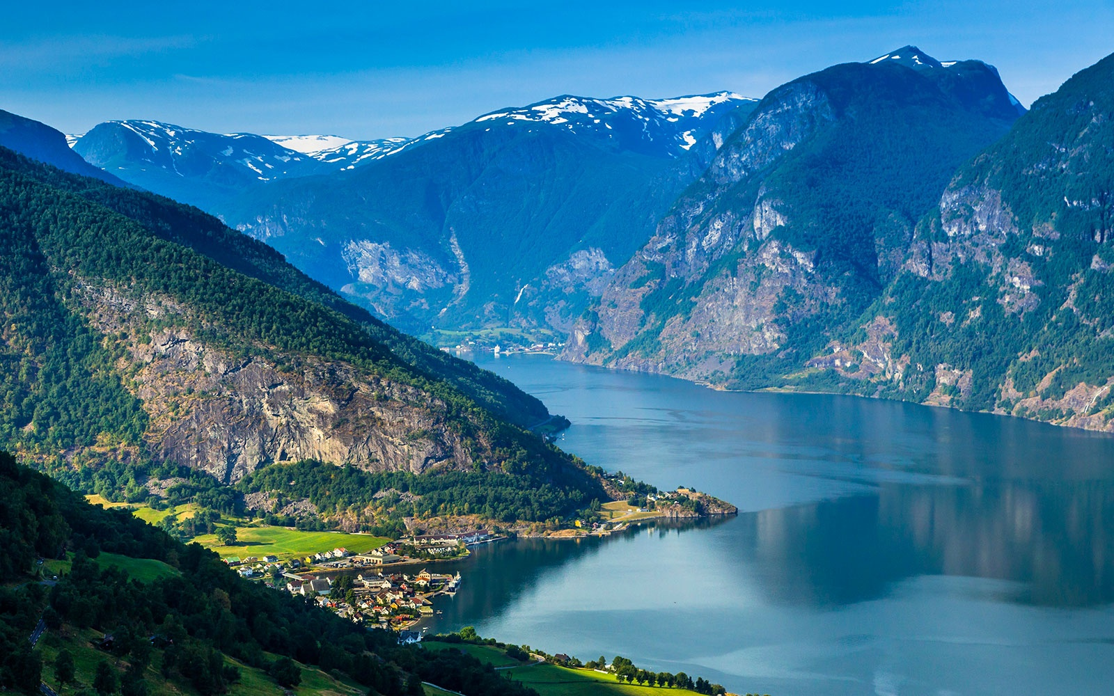 Aurland Lookout in Norway