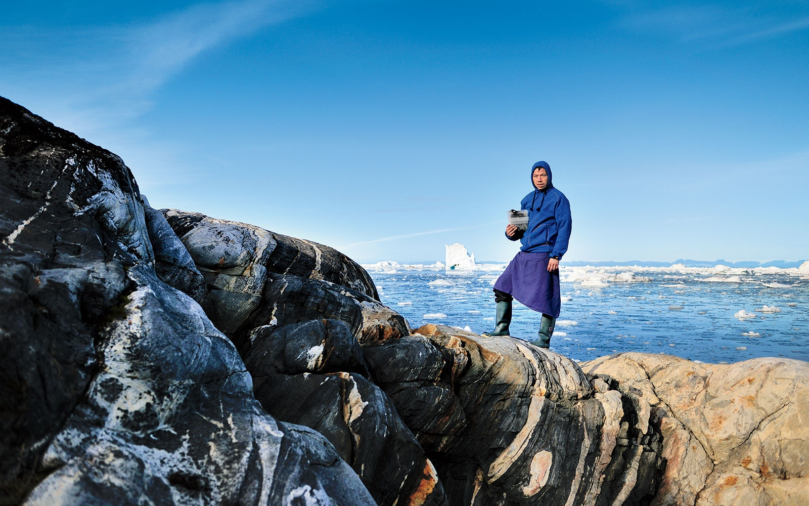 Inunnguaq Hegelund, Forager and Chef at Ulo restaurant