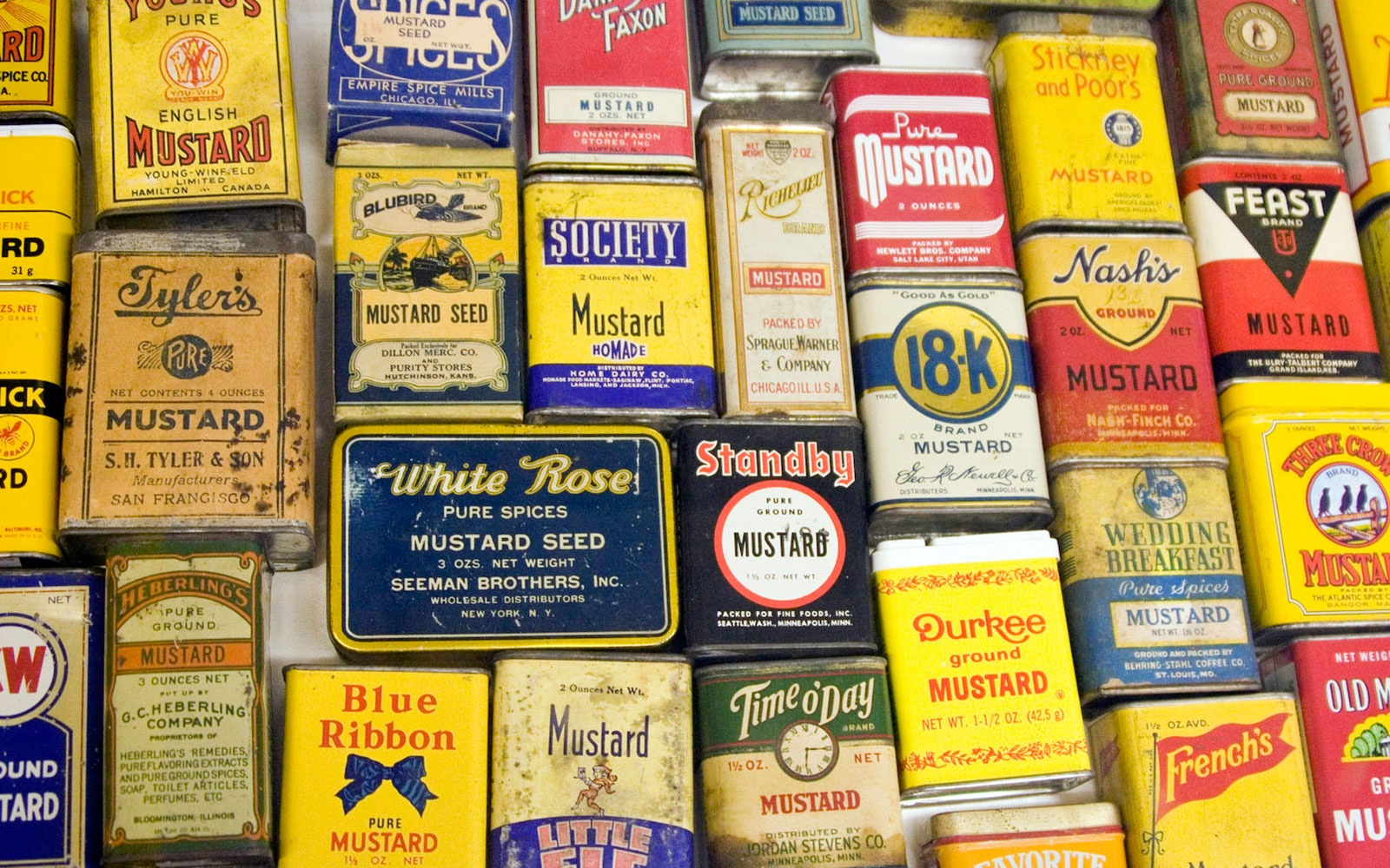 National Mustard Museum in Middleton, Wisconsin