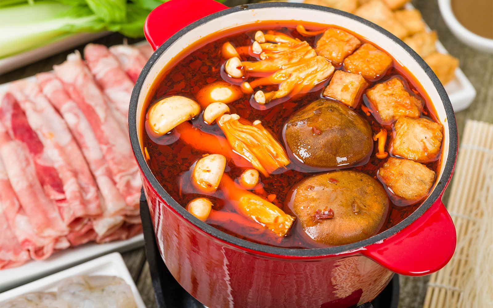 Sichuan Hot Pot in China