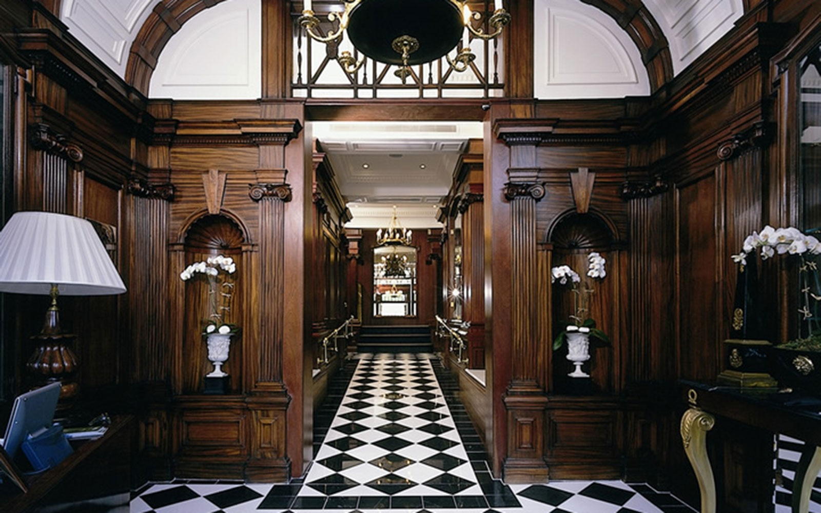 entrance hall at Hotel 41 in London, England