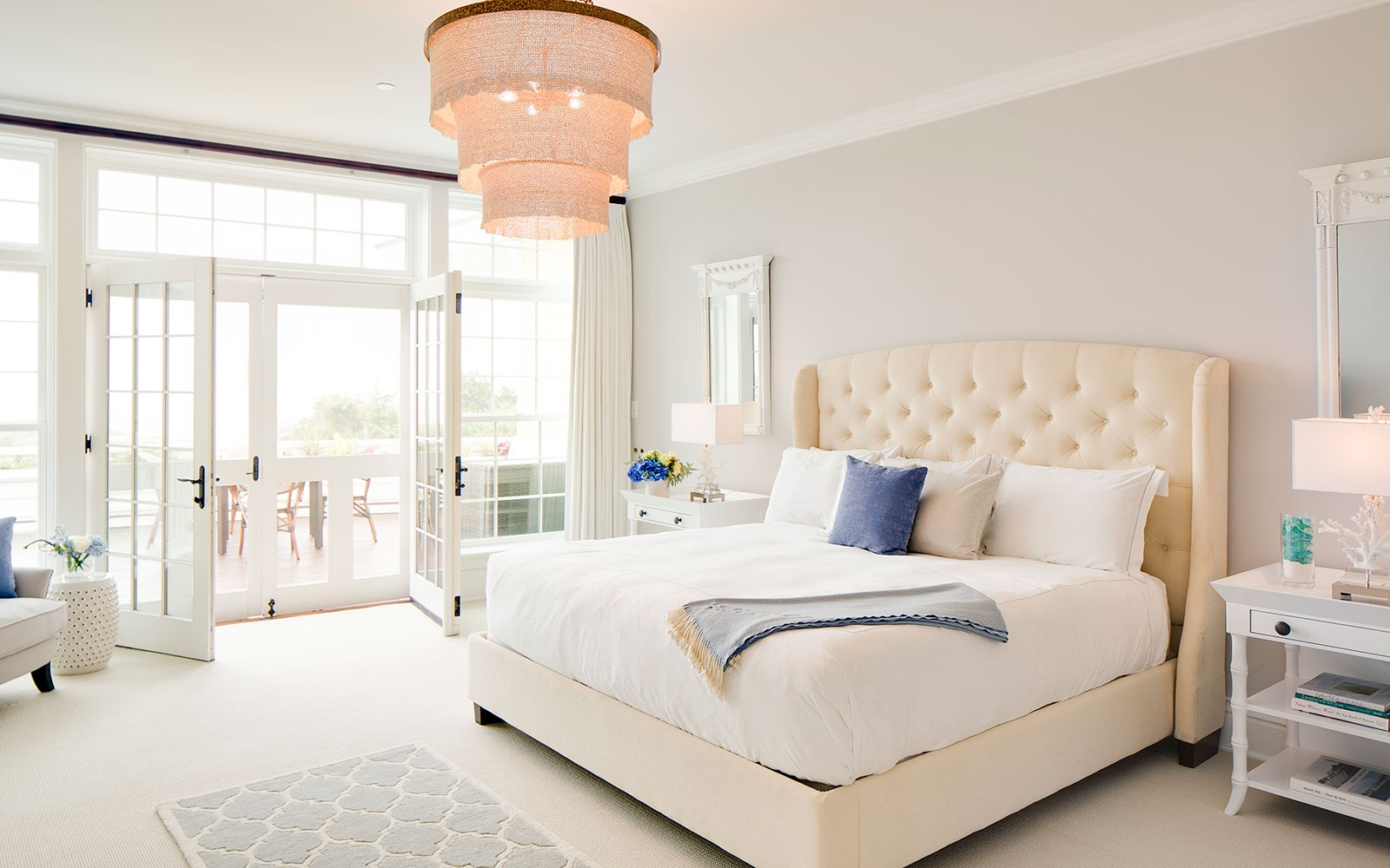 guest room at Ocean House, Watch Hill, Rhode Island