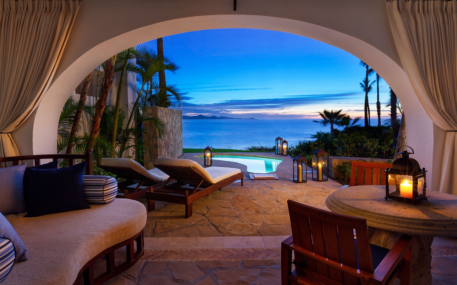 room with private pool at One&Only Palmilla, San Jose del Cabo, MX