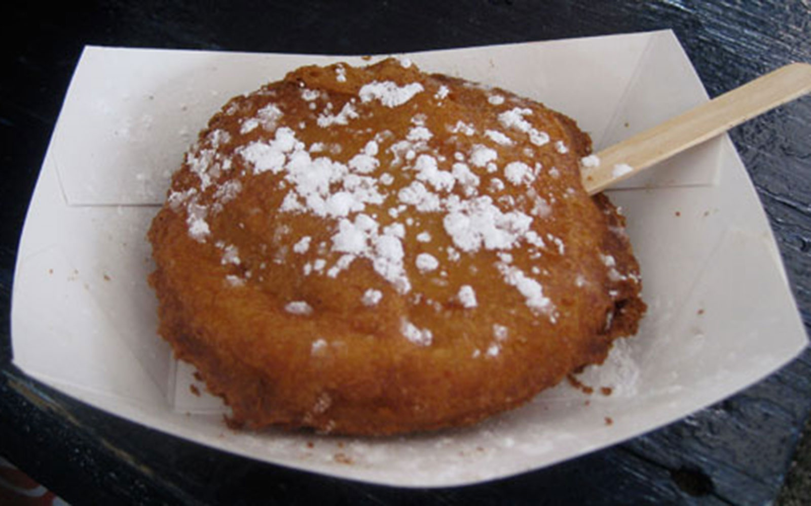 Iowa State Fair: Golden-Fried Peanut Butter & Jelly on A Stick