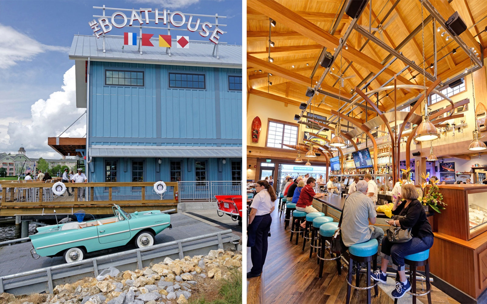 The Boathouse restaurant at The Landing in Downtown Disney, FL