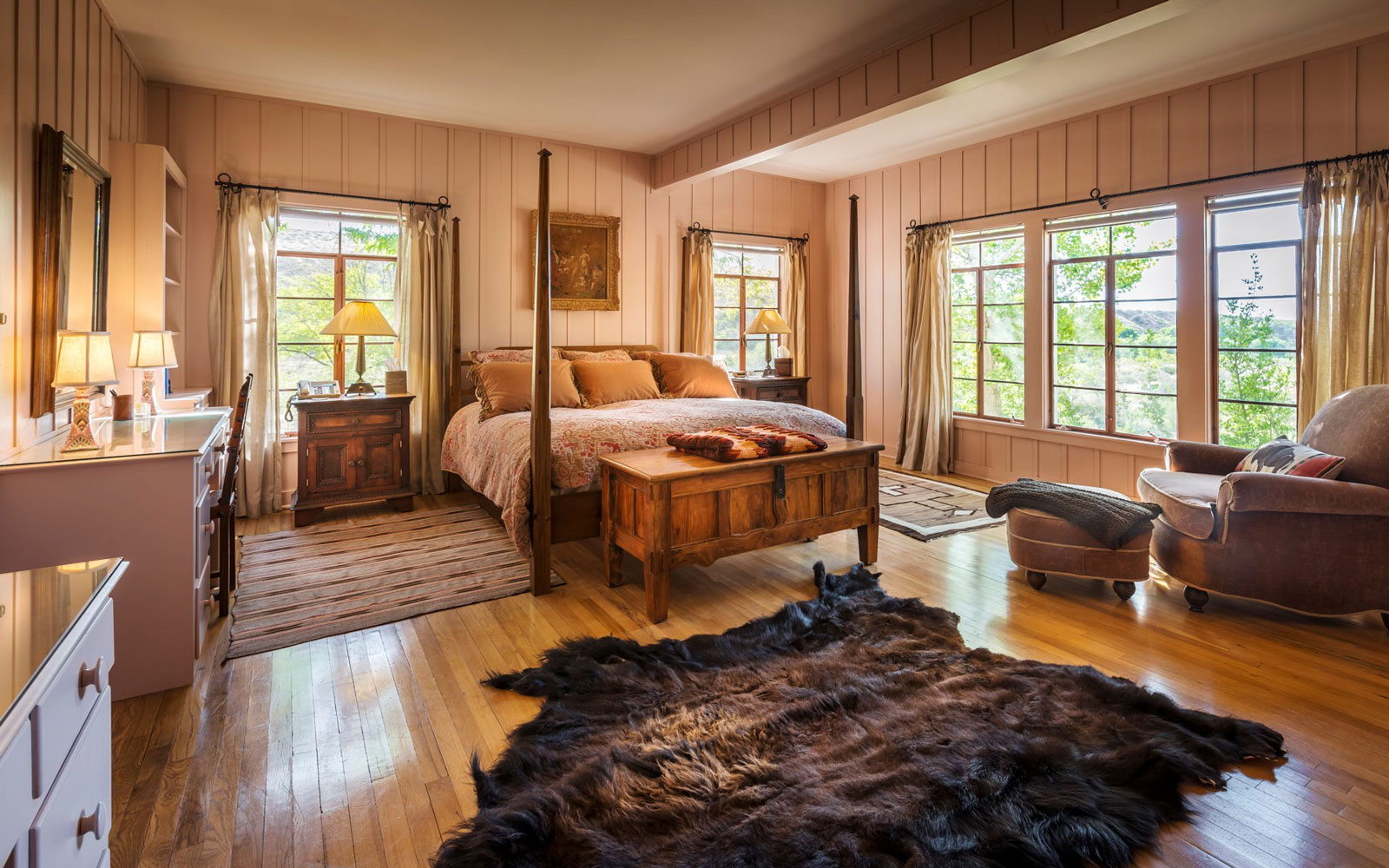 Now You Can Rent Ted Turner's Home | Travel + Leisure ... Ranch Bunkhouse Designs on ranch duplex designs, ranch house designs, ranch pool designs, ranch kitchen designs, ranch bungalow designs, ranch office designs,