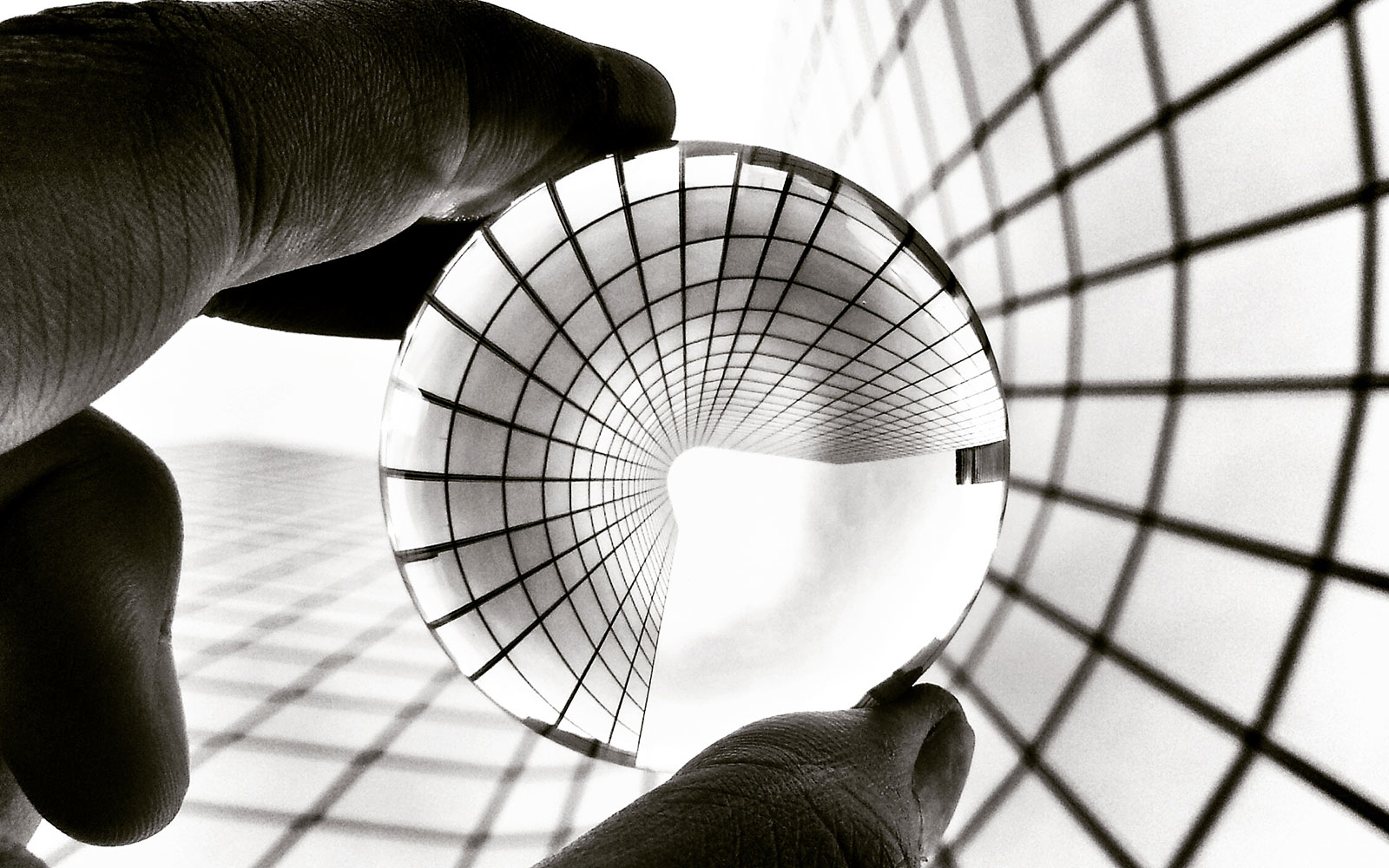 Play with lines, curves and perspective