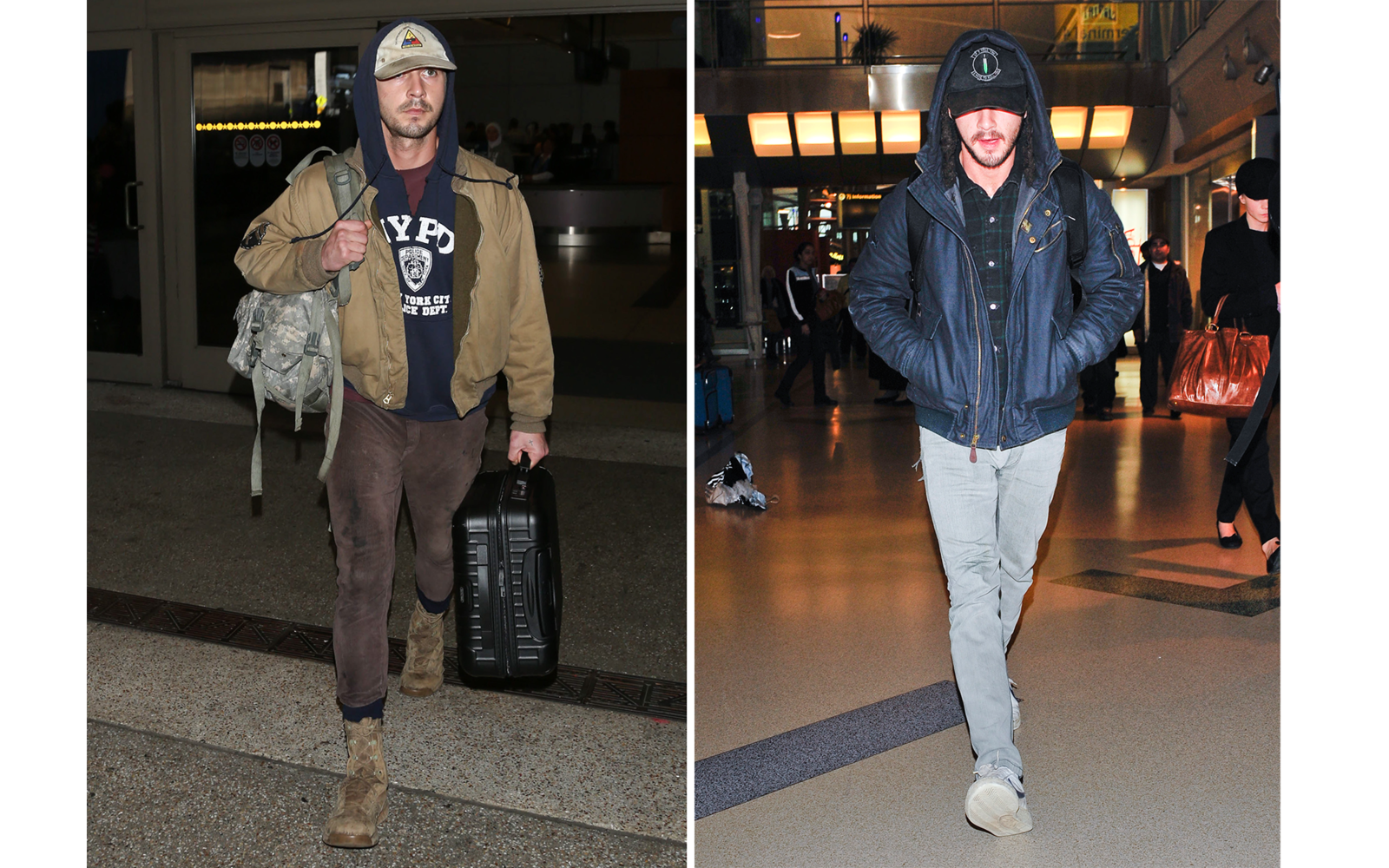 ed4f5430ddad Airport Style: Celebrity Do's and Don'ts | Travel + Leisure
