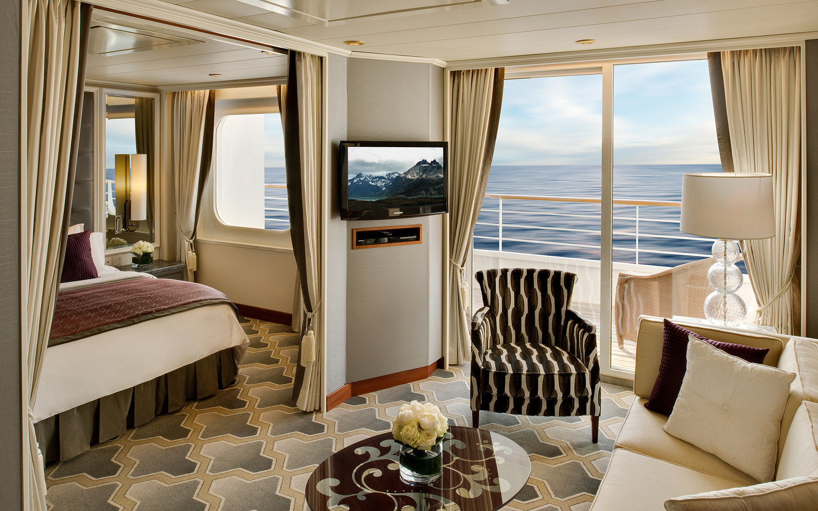 No. 16 Large-Ship Ocean Cruise Line: Crystal Cruises