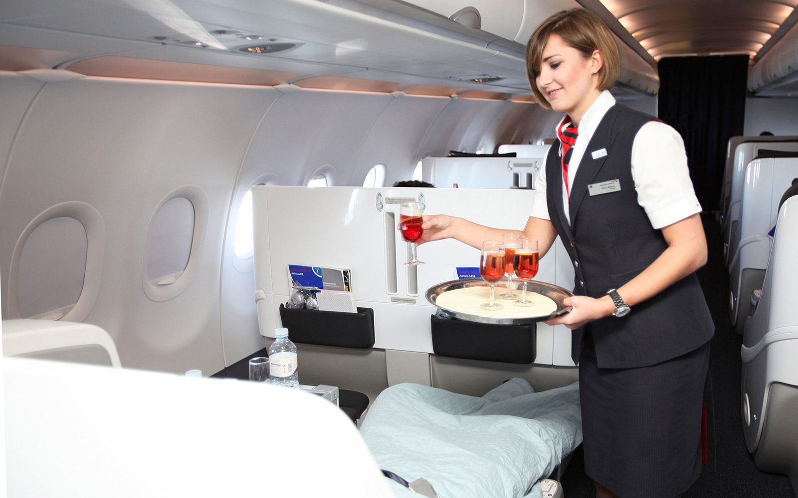 Using two specially adapted Airbus A318s the twice-daily service between London City and New York provides an experience specially tailored for business, and premium leisure, travellers. The aircraft are specially equipped to allow customers to work durin