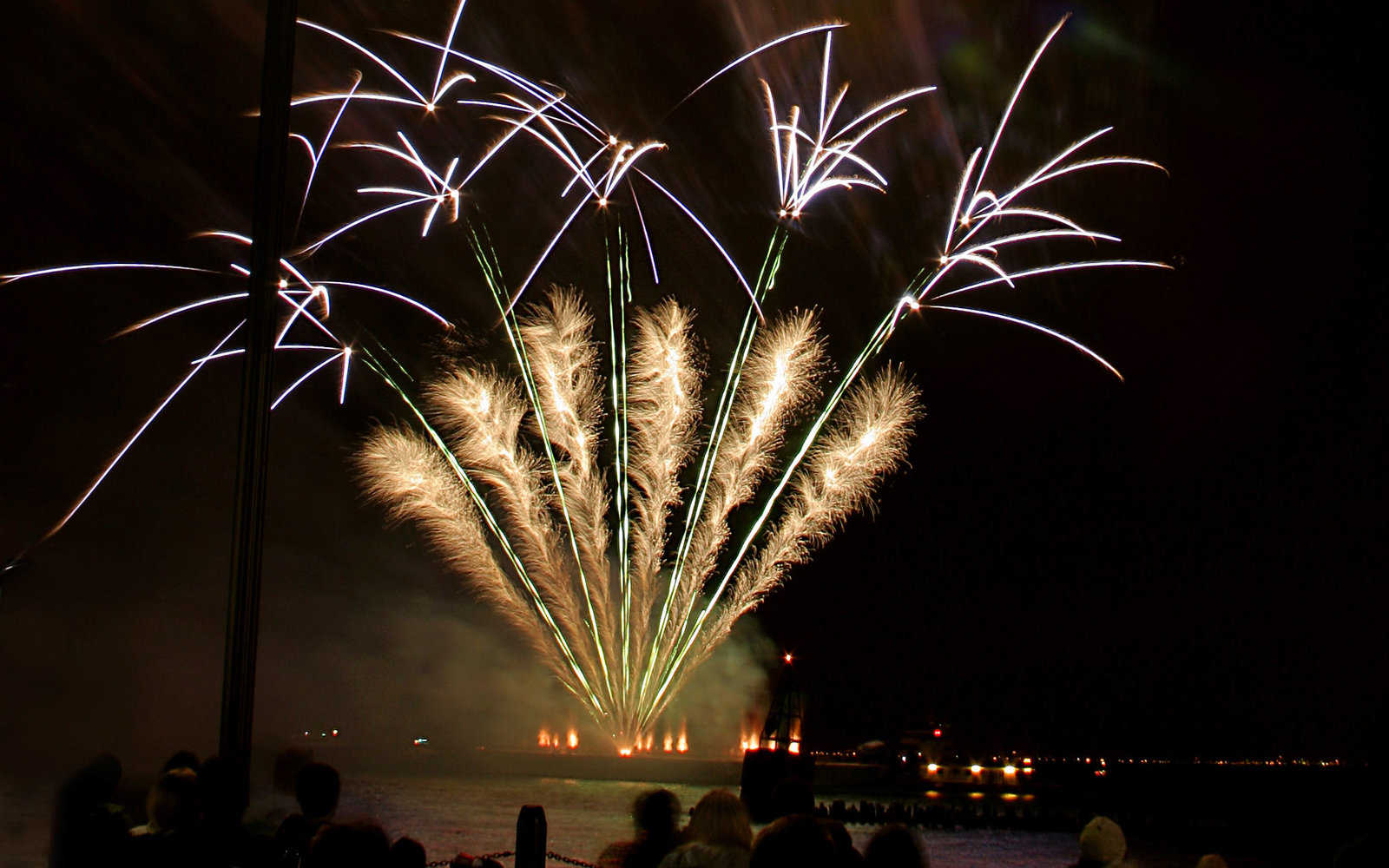 Navy Pier Fireworks New Years Eve Chicago