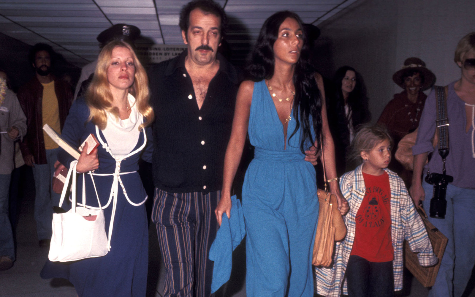 Cher Fashion Airport Travel Style