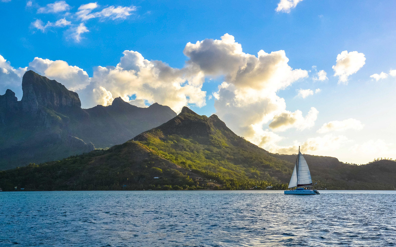 A Sunset Sail in Bora Bora, Tahiti