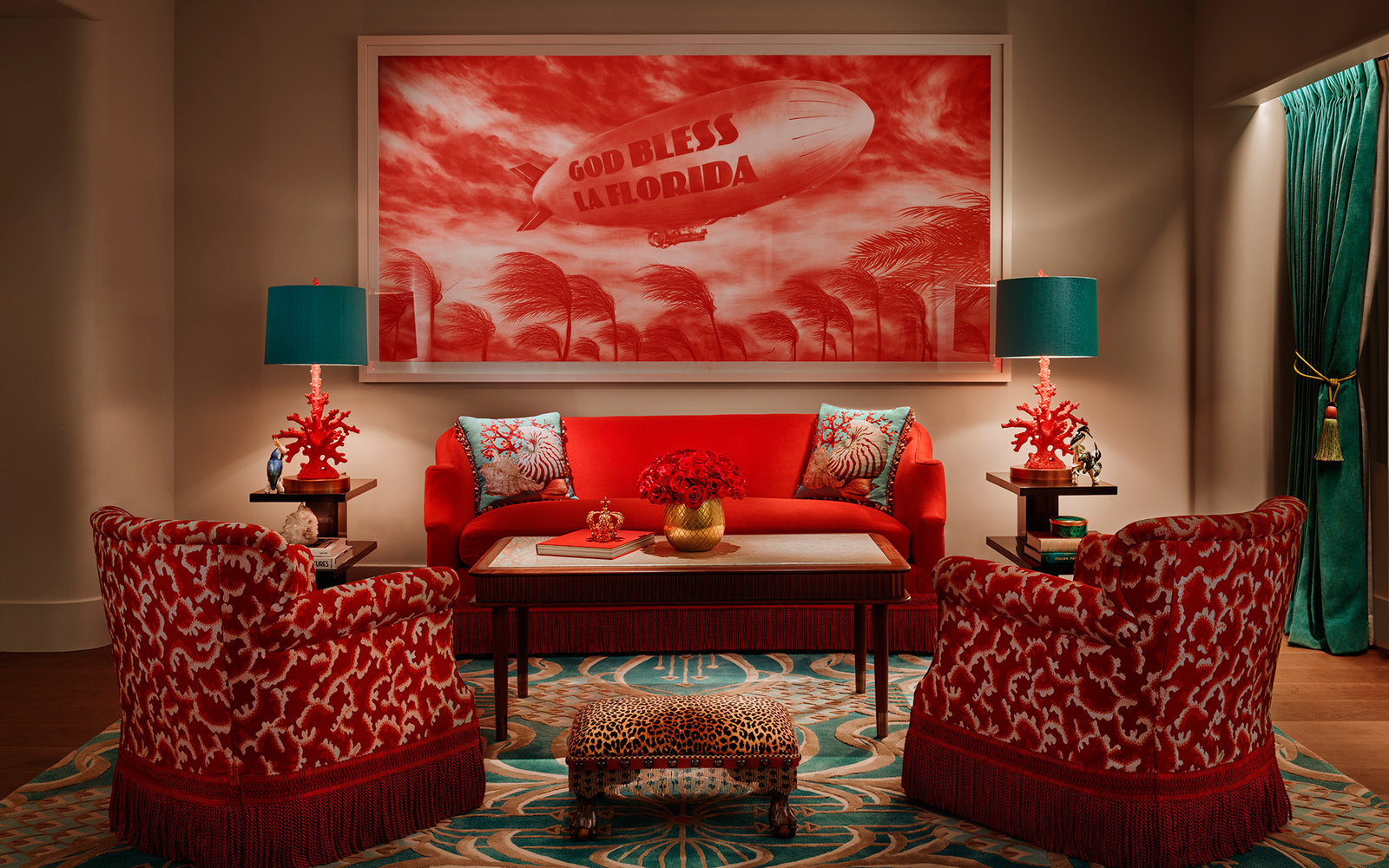 The Living Room at Faena Hotel Miami Beach