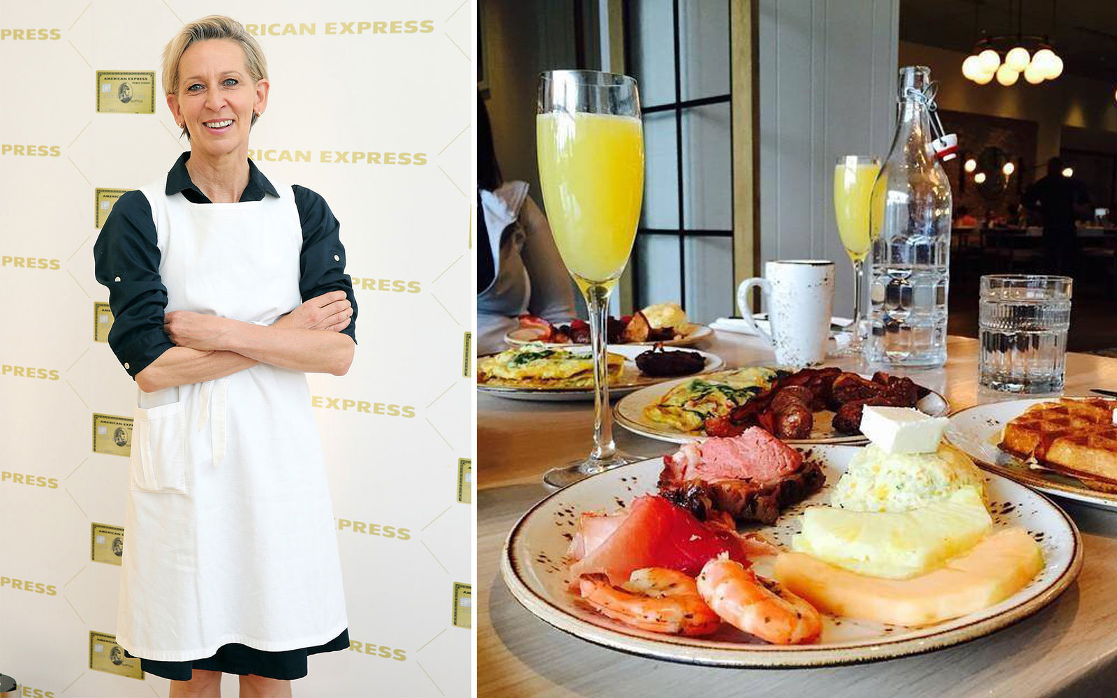 NEW YORK, NY - JUNE 11:  Chef Gabrielle Hamilton attends the American Express celebration of The Gold Card at Milk Studios on June 11, 2015 in New York City.  (Photo by Neilson Barnard/Getty Images for American Express)